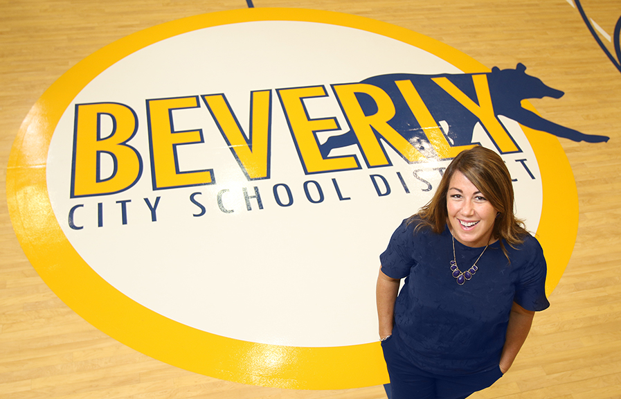 Elizabeth Giacobbe, Beverly City School District Superintendent